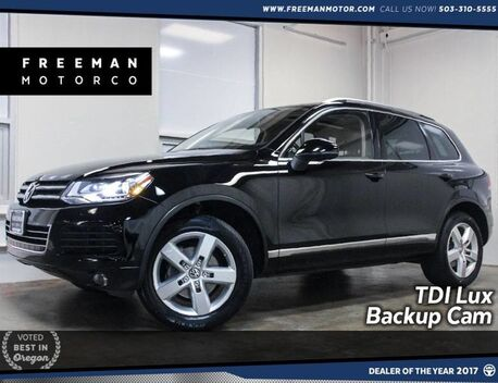 2014_Volkswagen_Touareg_TDI Lux Pano Backup Cam Heated Seats_ Portland OR