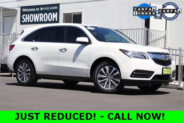 2015 Acura MDX 3.5L Technology Package Santa Rosa CA