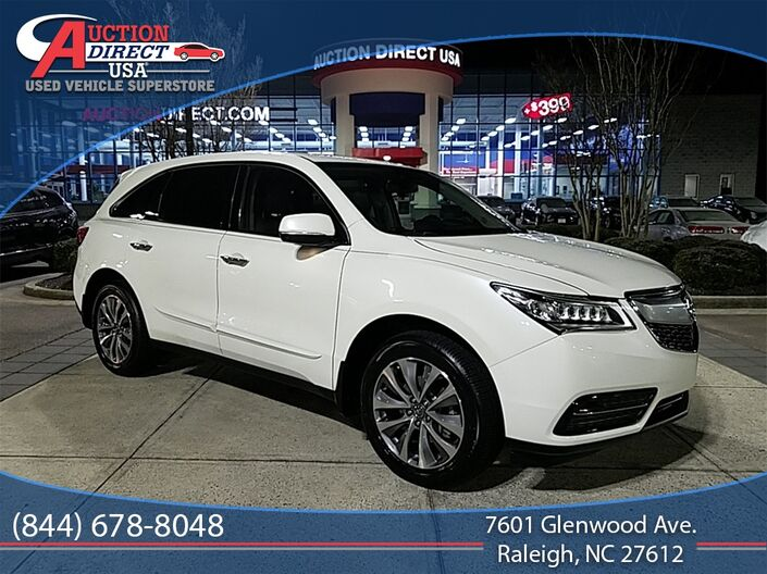 2015 Acura MDX 3.5L Technology Package Raleigh