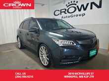 2015_Acura_MDX_ELITE PKG/ AWD/DVD REAR ENTERTAINMENT SYSTEM/SUNROOF/NAVIGATION SYS_ Winnipeg MB