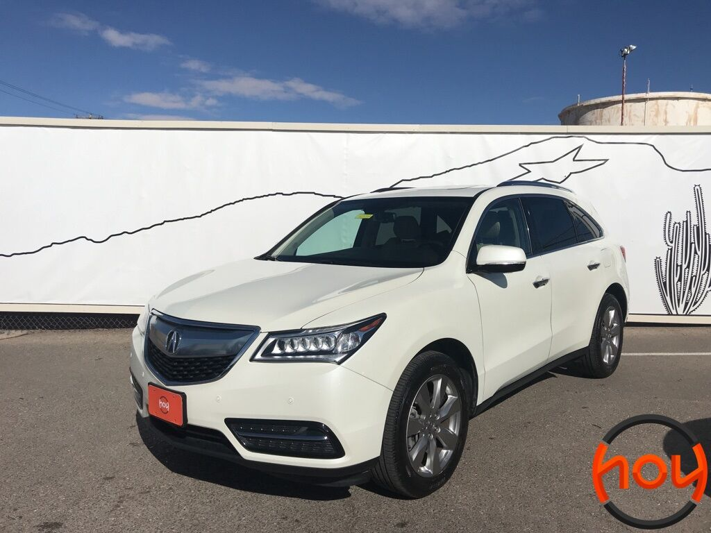 2015_Acura_MDX_FWD 4dr Advance/Entertainment Pkg_ El Paso TX