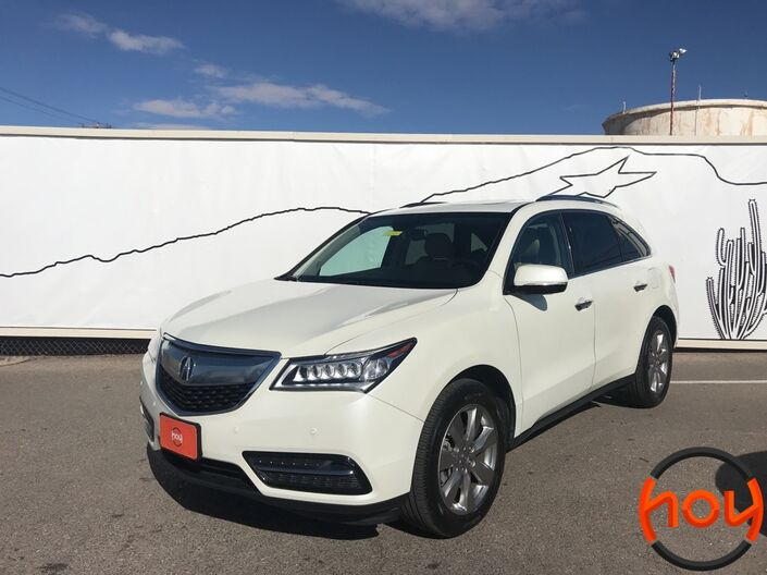 2015 Acura MDX FWD 4dr Advance/Entertainment Pkg El Paso TX