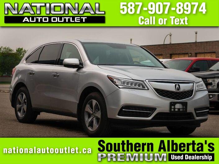2015 Acura MDX MDX - AWD - HEATED LEATHER - 7 PASSANGER Lethbridge AB