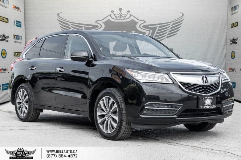 2015 Acura MDX Nav Pkg, SH-AWD, SUNROOF, BACK-UP CAM, PUSH START Toronto ON