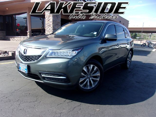 2015 Acura MDX SH-AWD 6-Spd AT w/Tech Package Colorado Springs CO