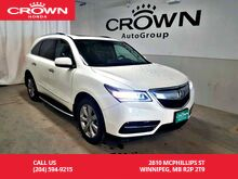 2015_Acura_MDX_SH-AWD Elite Pkg/ one owner/ low kms/ heated seats & steering wheel/ rear entertainment sys_ Winnipeg MB