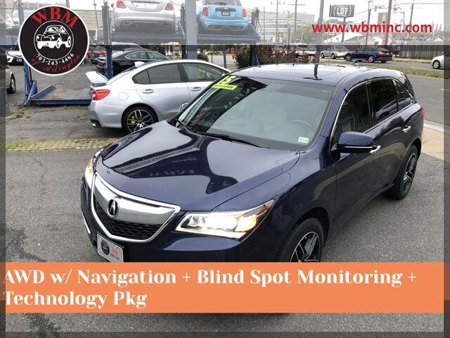 2015 Acura MDX SH-AWD w/ Technology Package Arlington VA