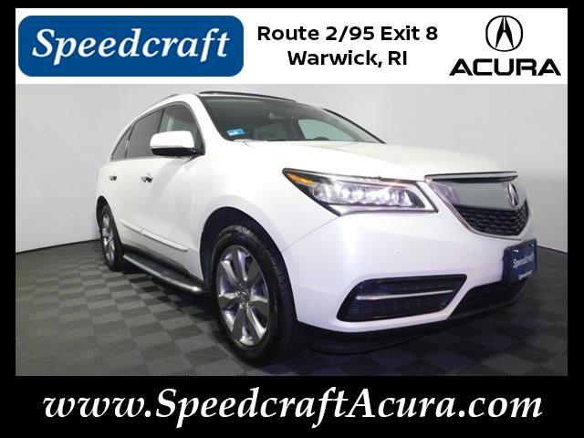 2015 Acura MDX SH-AWD with Advance and Entertainment Packages Wakefield RI
