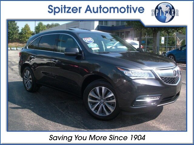 2015 Acura MDX SH-AWD with Technology Package McMurray PA