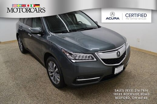 2015 Acura MDX Tech Pkg Bedford OH