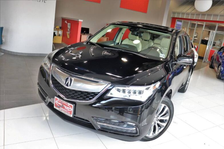 2015 Acura MDX Technology Package Sunroof Navigation Backup Camera Springfield NJ
