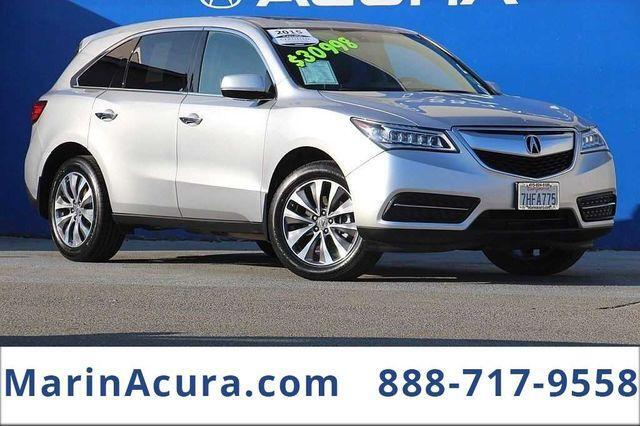 2015_Acura_MDX_with Technology Package_ Bay Area CA