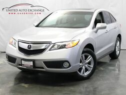 2015_Acura_RDX_3.5L V6 Engine / AWD / Sunroof / Navigation / Rear view Camera / Heated Leather Seats / Push Start_ Addison IL