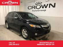 2015_Acura_RDX_AWD /NO ACCIDENTS/LOW KM/ONE OWNER/HEATED LEATHER SEATS/ BACK UP CAM_ Winnipeg MB