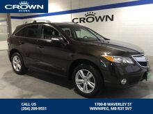 2015_Acura_RDX_PREMIUM PKG - *ACCIDENT FREE/One owner/LOCAL*_ Winnipeg MB