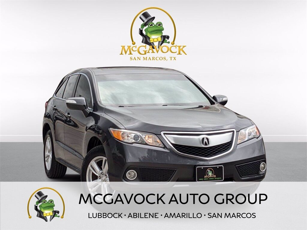 2015 Acura RDX Technology Package San Marcos TX