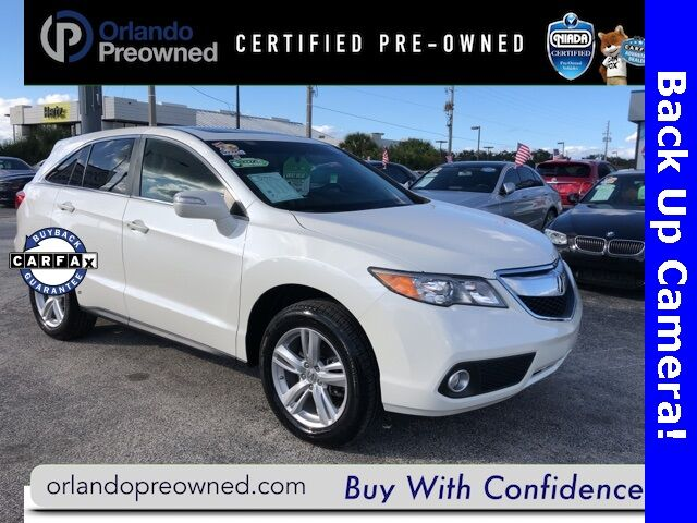 2015 Acura RDX Technology Package Orlando FL
