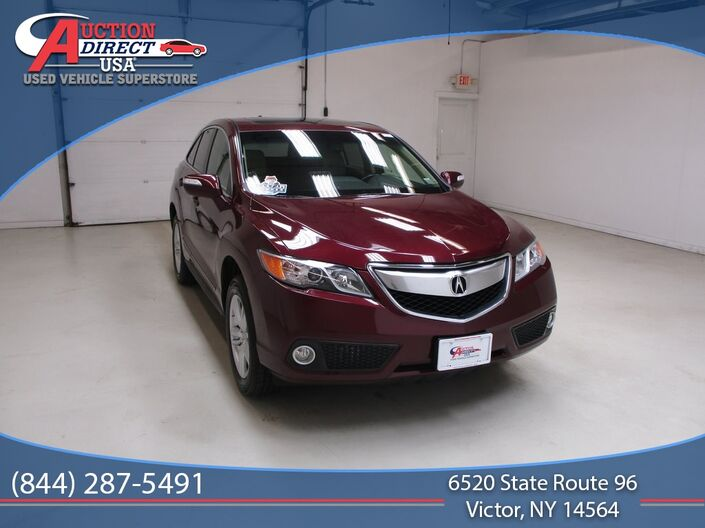 2015 Acura RDX Technology Package Raleigh