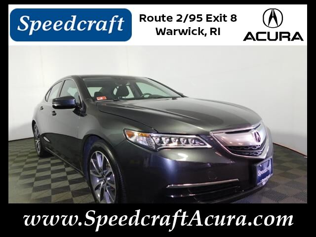 Vehicle details - 2015 Acura TLX at Sdcraft Acura West Warwick ... on