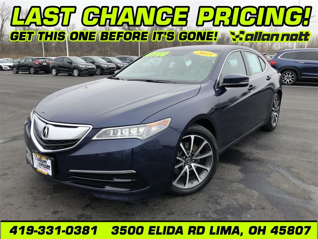 2015 Acura TLX 3.5L V6 Lima OH