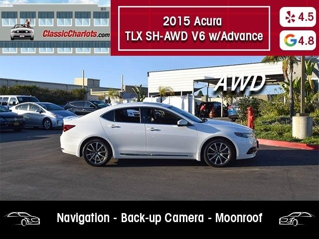 2015 Acura TLX SH-AWD V6 w/Advance