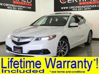 Acura TLX TECHNOLOGY PKG BLIND SPOT MONITOR LANE DEPARTURE SYSTEM NAVIGATION SUNROOF 2015
