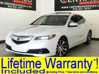 Acura TLX TECHNOLOGY PKG SUNROOF NAVIGATION BLIND SPOT ASSIST REAR CAMERA 2015