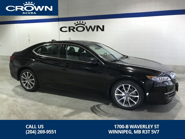 2015_Acura_TLX_Tech BLACK FRIDAY SPECIAL $500.00 CREDIT TOWARDS WINTER TIRES_ Winnipeg MB