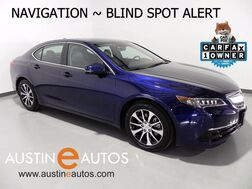 2015_Acura_TLX Tech_*NAVIGATION, BLIND SPOT ALERT, BACKUP-CAM, LEATHER, MOONROOF, HEATED SEATS, BLUETOOTH_ Round Rock TX