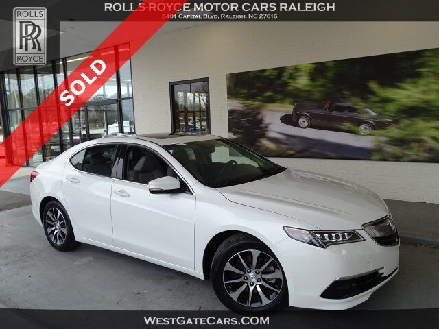 2015 Acura TLX Tech Raleigh NC
