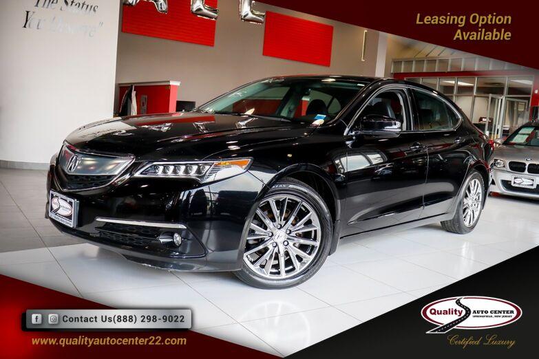 2015 Acura TLX V6 Advance 1-Owner Springfield NJ
