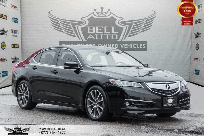 2015 Acura TLX V6 ELITE PKG, SH-AWD, BLIND-SPOT, NAVI, BACK-UP CAM, COOLED SEATS