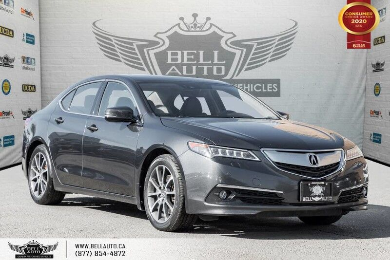 2015 Acura TLX V6 Elite, AWD, NAVI, BACK-UP CAM, SENSORS, LANE DEP