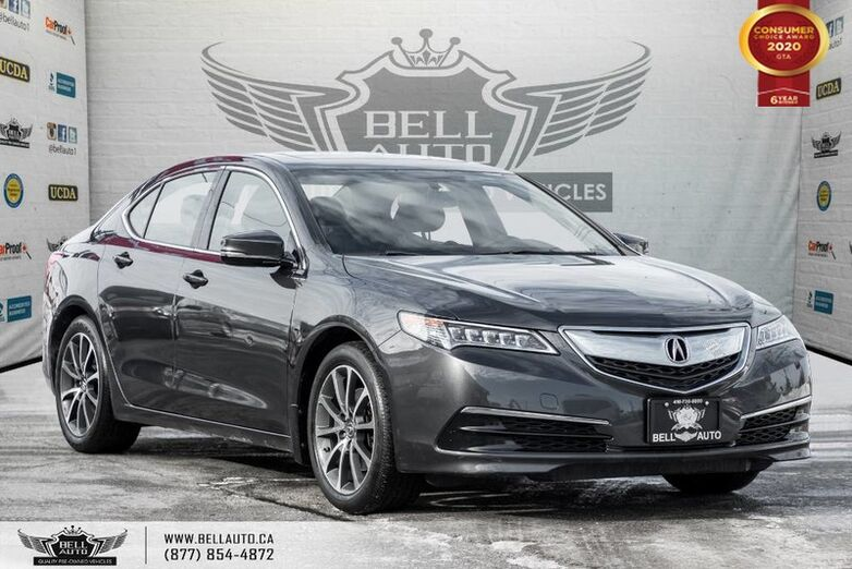 2015 Acura TLX V6, SH-AWD, NO ACCIDENT, REAR CAM, SUNROOF, PUSH START Toronto ON