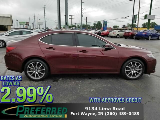 2015 Acura TLX V6 Tech Fort Wayne Auburn and Kendallville IN