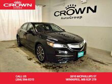 2015_Acura_TLX_V6 Tech/ one owner/ low kms/espresso interior/ heated steering wheel/navigation sy_ Winnipeg MB