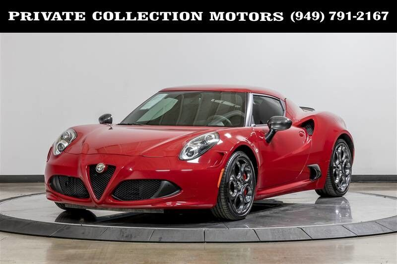 2015 Alfa Romeo 4C Launch Edition $71,895 MSRP Costa Mesa CA