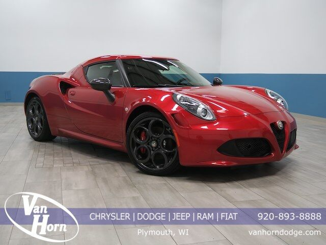 2015 Alfa Romeo 4C Launch Edition Plymouth WI