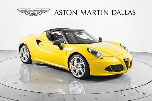 2015_Alfa Romeo_4C_Spider_ Dallas TX