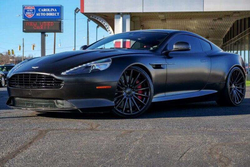 2015 Aston Martin DB9 Carbon Edition **LOWERED*LOW MILES** w/ Heated Front Seats, Navigation & Back-Up Camera