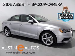 2015_Audi_A3 1.8T Premium_*BACKUP-CAM, BLIND SPOT ALERT, OVERSIZED MOONROOF, LEATHER, XENONs/LEDs, BLUETOOTH PHONE & AUDIO_ Round Rock TX