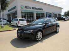 2015_Audi_A3_1.8T Premium FWD S tronic LEATHER SEATS, PANORAMIC SUNROOF, BLUETOOTH CONNECTIVITY, HID HEADLIGHTS_ Plano TX