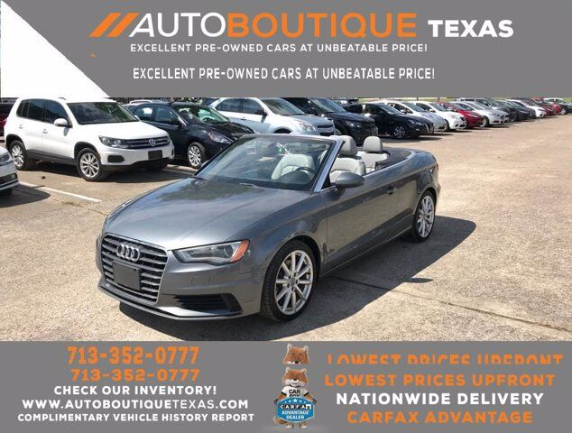 2015 Audi A3 1.8T Premium Houston TX