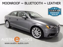 2015_Audi_A3 1.8T Premium_*LEATHER, MOONROOF, HEATED SEATS, XENONs/LEDs, BLUETOOTH PHONE & AUDIO_ Round Rock TX