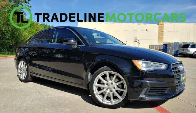 2015 Audi A3 1.8T Premium LEATHER, SUNROOF, BLUETOOTH, AND MUCH MORE!!! CARROLLTON TX