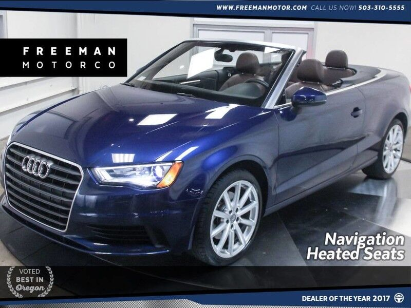 2015 Audi A3 1.8T Premium Plus Nav Heated Seats Portland OR