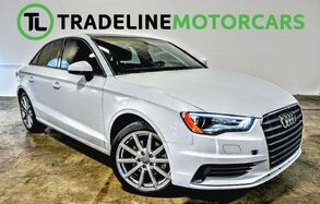 2015_Audi_A3_1.8T Premium SUNROOF, LEATHER, BLUETOOTH AND MUCH MORE!!!_ CARROLLTON TX