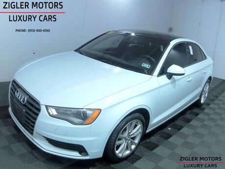2015 Audi A3 2.0 TDI Premium S tronic One Owner Panoramic Roof low miles Addison TX