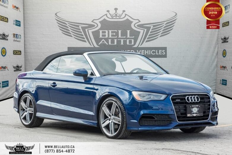 2015 Audi A3 2.0T Technik, S-LINE, NO ACCIDENT, AWD, NAVI, REAR CAM Toronto ON