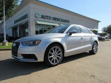 2015_Audi_A3_*Premium Plus Package*, LEATHER, SUNROOF, NAVIGATION, HTD FRONT SEATS, KEYLESS START, BLUETOOTH_ Plano TX